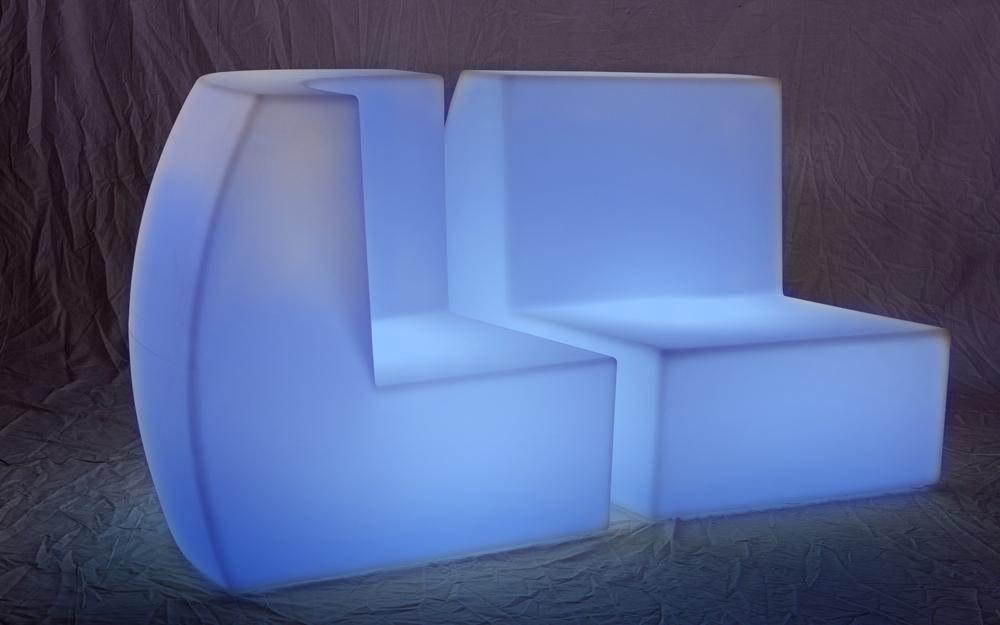 イルミネーション クラシオン フロアソファセット(コーナーとストレート型) 設置画像3