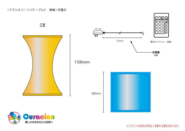 ハイテーブルC 設計図