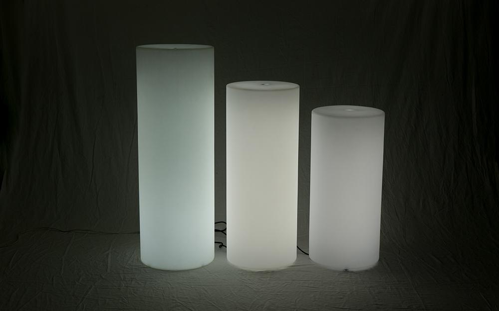 光る家具「クラシオン」ピラー