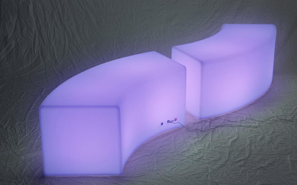 LEDイルミネーション ストリングライト 設置画像5