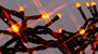 LEDイルミネーション オレンジ