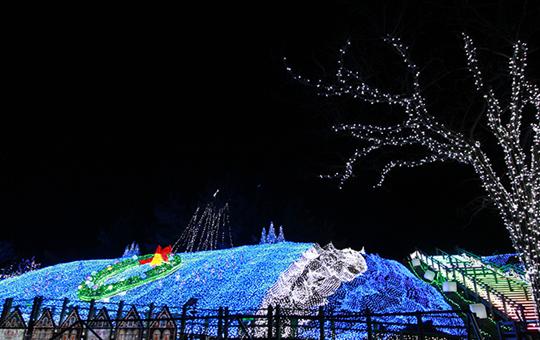 鳥取県 鳥取砂丘イリュージョン2018 ファンタジーランド