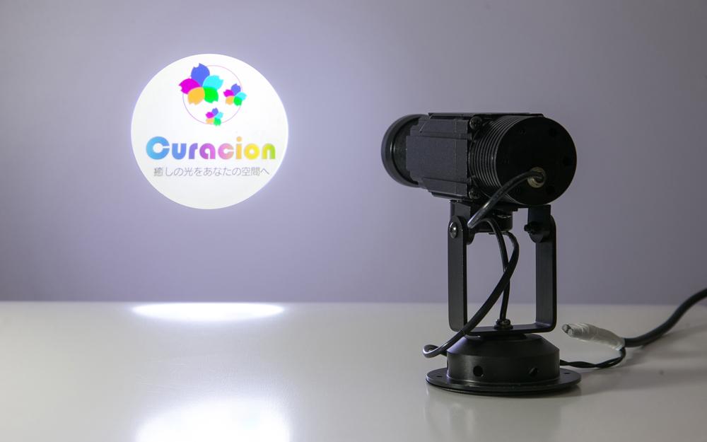 イルミネーション ロゴ投影 LEDプロジェクションライト 設置画像1