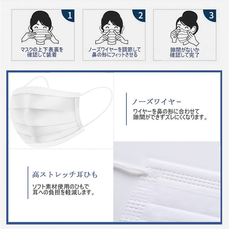 使い捨てマスク 性能7