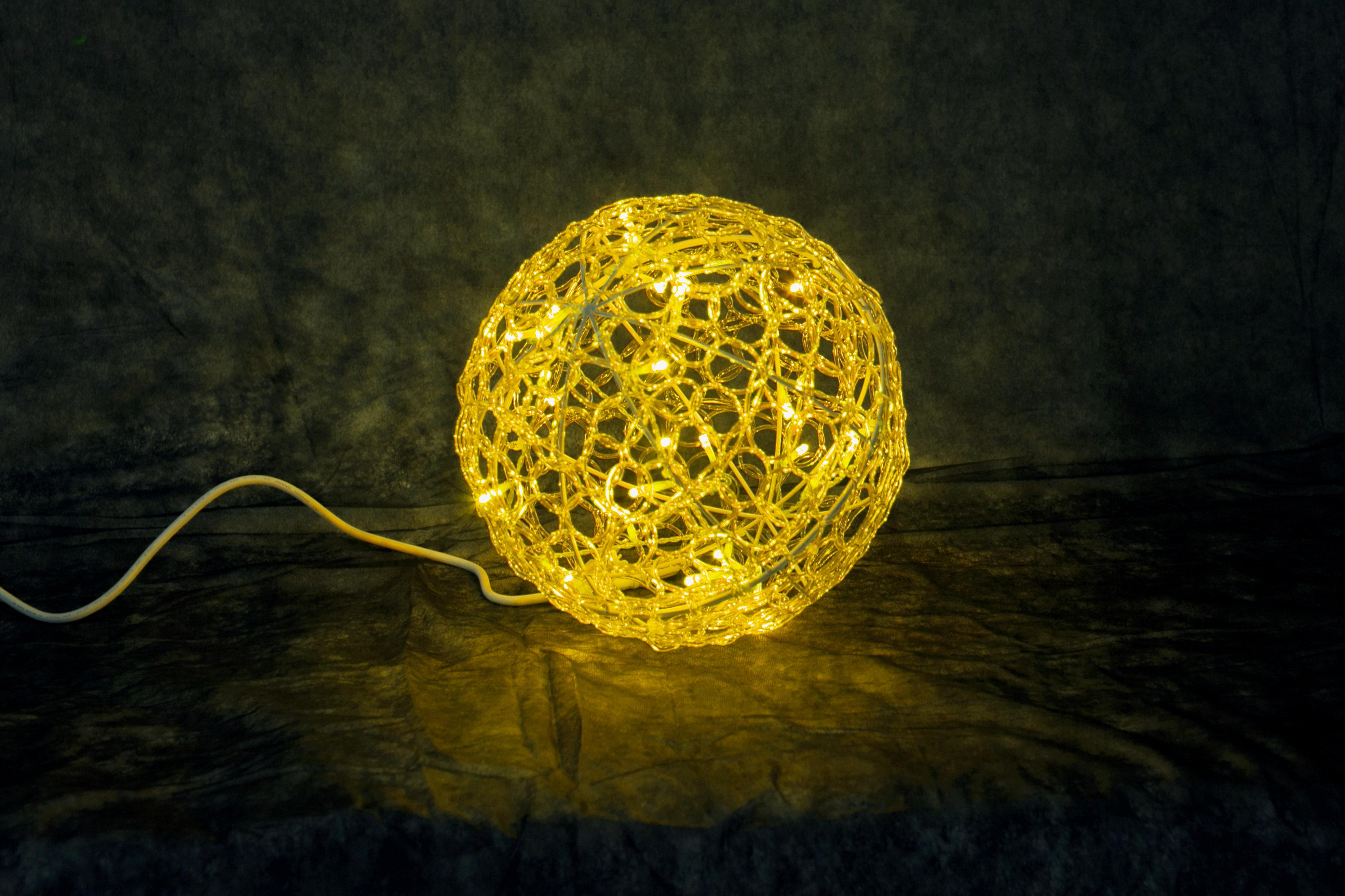 イルミネーション モチーフ クリスタルグローボール