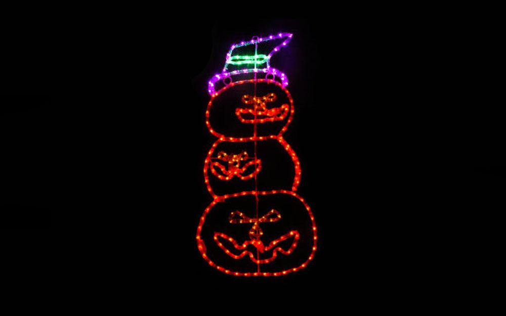 イルミネーション モチーフ かぼちゃ三兄弟 商品画像