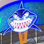 LEDネオンサインデザイン集「サメ」をモチーフにしました。