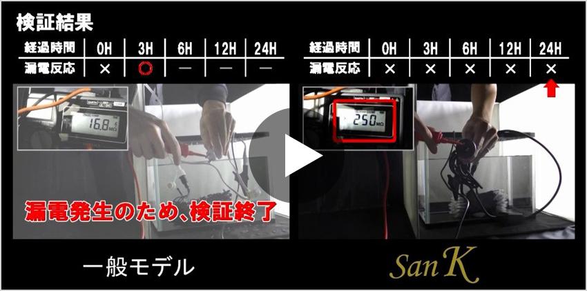 LEDイルミネーション検証動画1