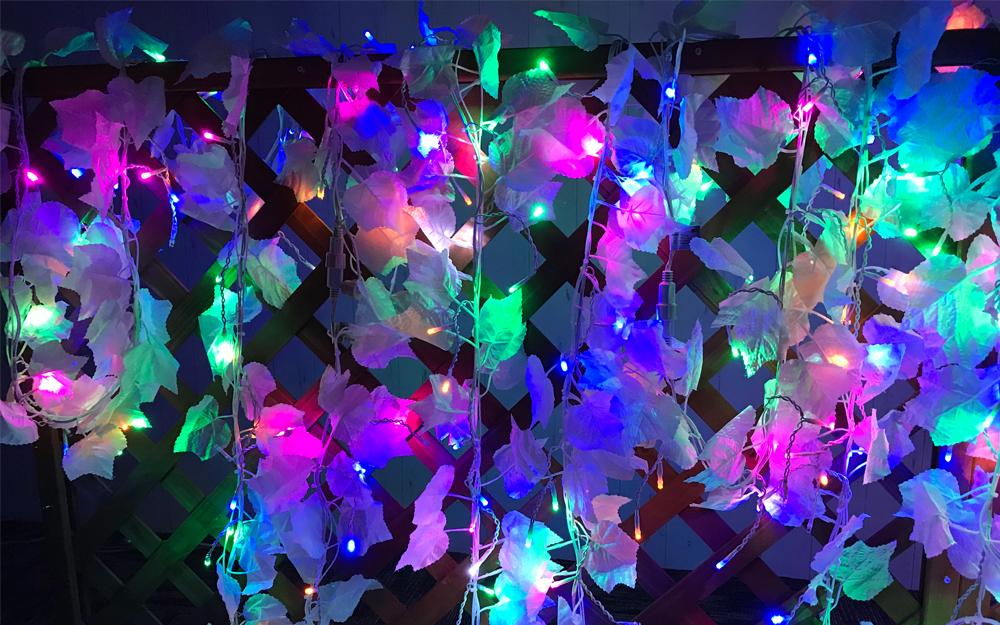 LEDイルミネーション スノーリーフライト 取付画像1