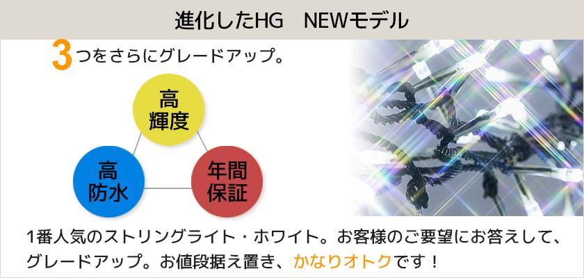 LEDイルミネーション販売 NEWストリングライト・ホワイト