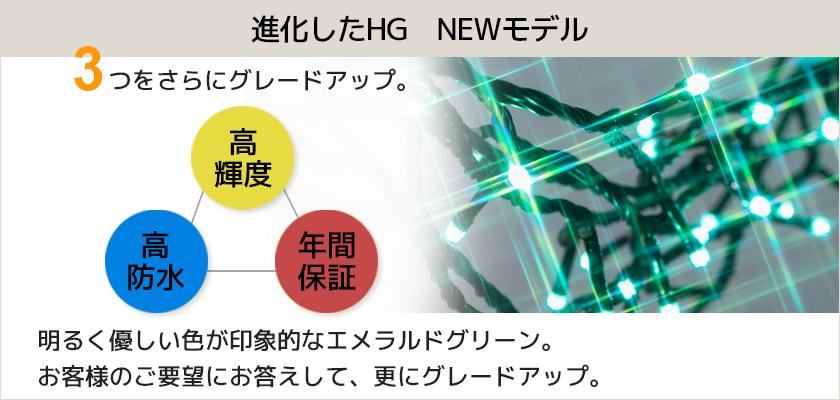 LEDイルミネーション販売 NEWストリングライト・エメラルドグリーン