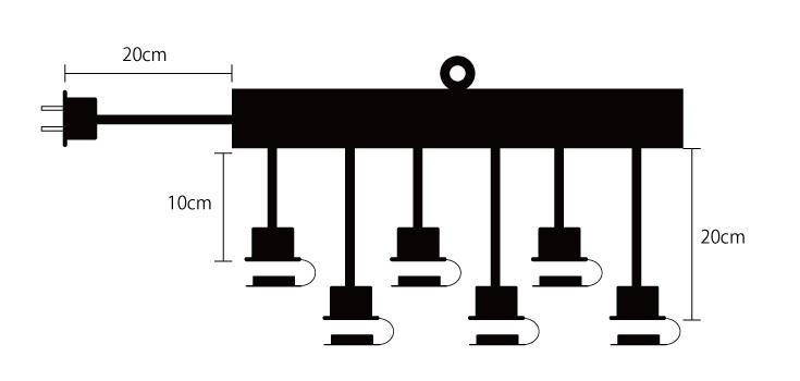 6分配延長電源コード 設計図