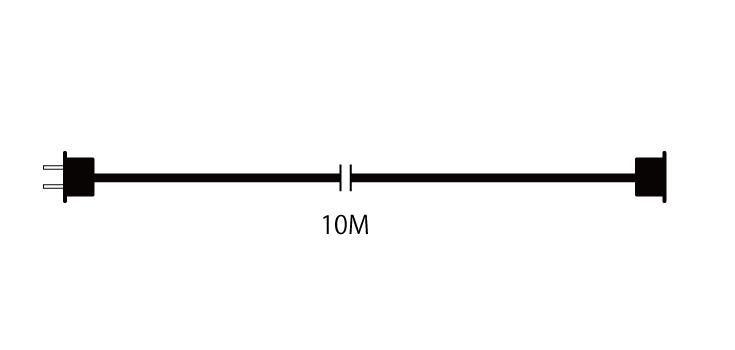 10メートル延長電源コード 設計図