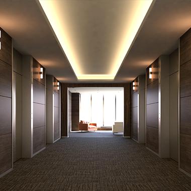 LEDテープライト エレベーターフロア 使い方・施工