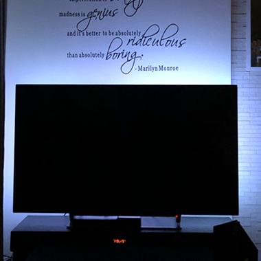 LEDテープライト テレビ 使い方・施工