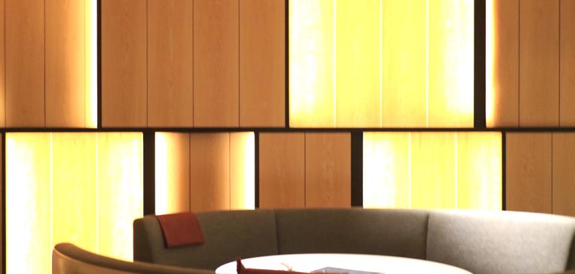 LEDテープライト フロアソファへの使い方・施工