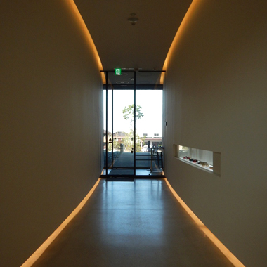 LEDテープライト 廊下 使い方・施工