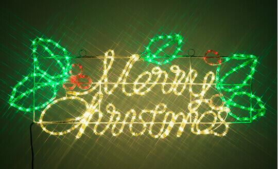 クリスマスLEDイルミネーション モチーフライト