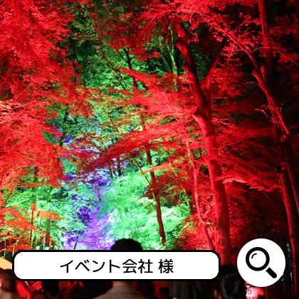 LED投光器 設置イメージ2