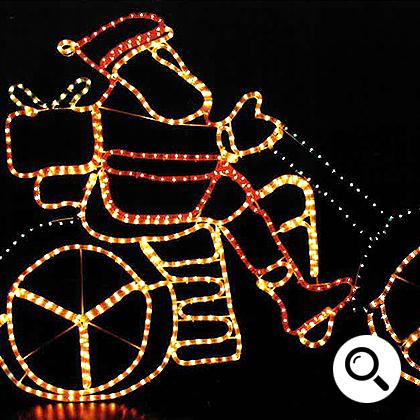 LEDイルミネーション販売 チューブライト設置画像3