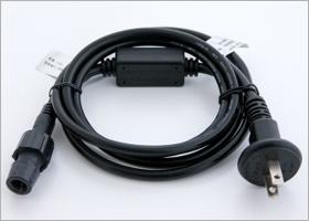 直径10ミリ専用常点電源コード