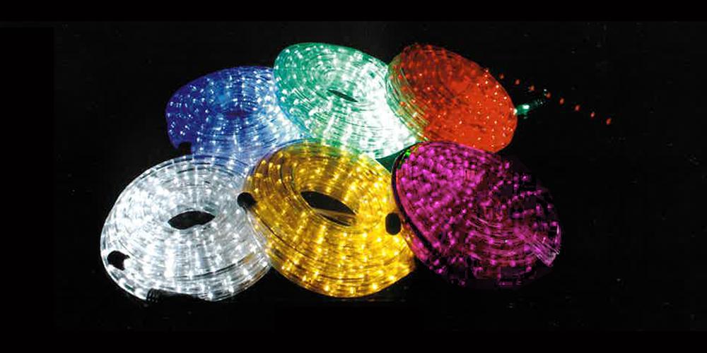 LEDイルミネーション ストリングライト 設置画像1