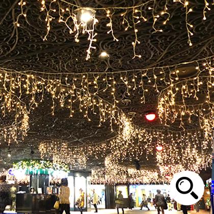 LEDイルミネーション電飾販売 つららライト設置画像4